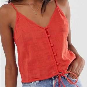 Cami button front top in grid check